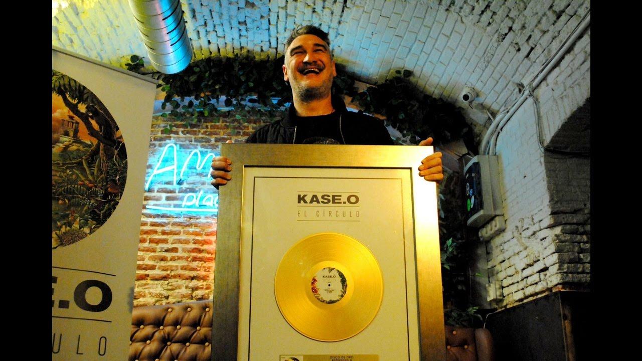"""Kase.O consigue un disco de oro con """"El Círculo"""""""