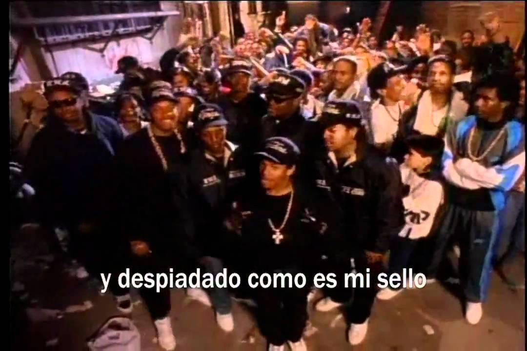 Eazy E – Said Than Dunn (Sub. Español)