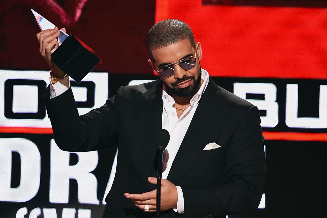 Drake mejor artista de rap en el American Music Awards