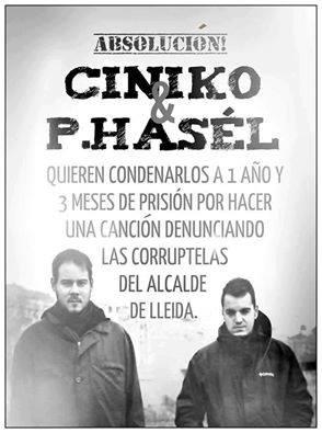 Hoy se ha celebrado el juicio contra Pablo Hasel y Cíniko