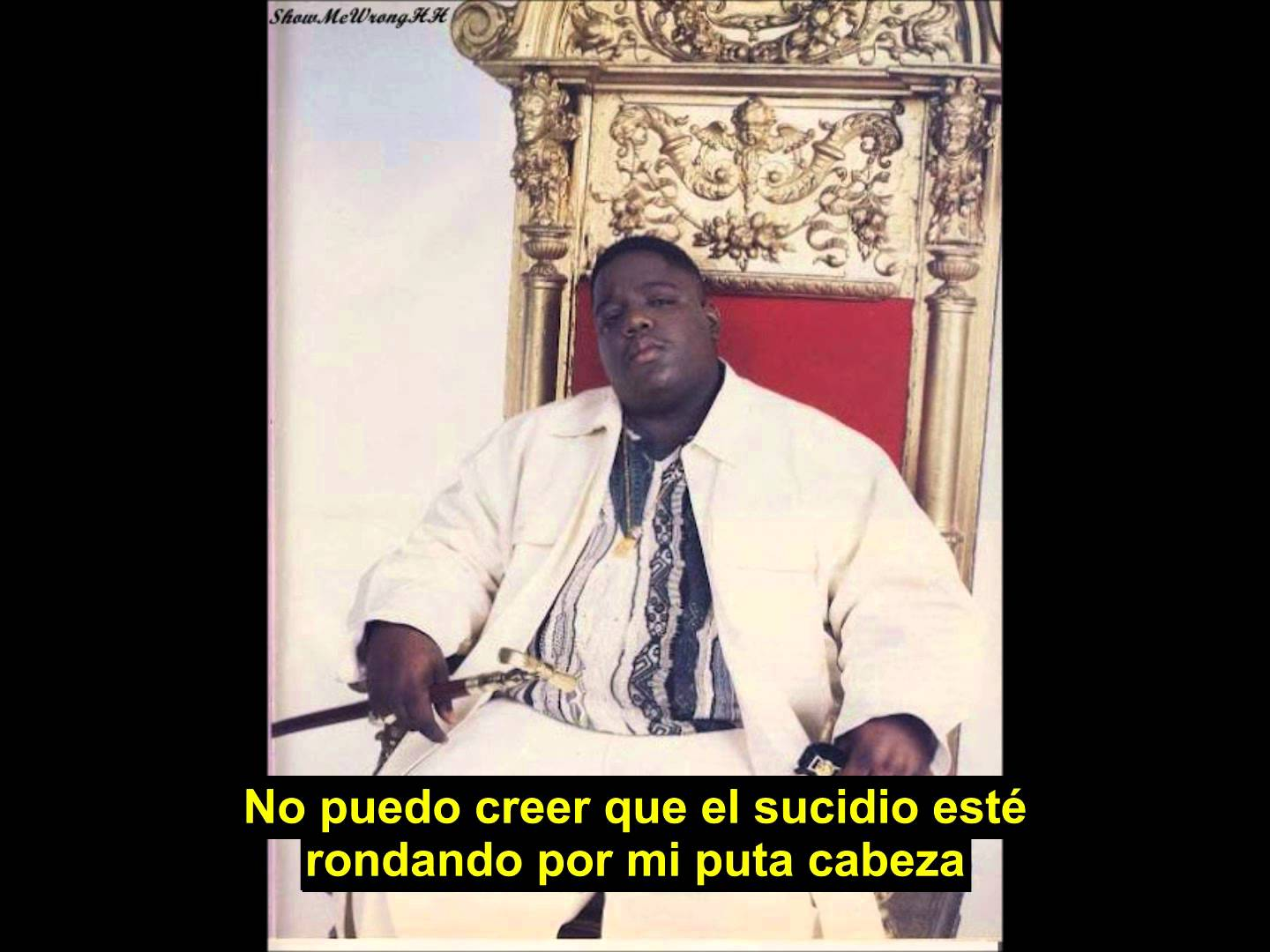 Notorious B.I.G – Suicidal Thoughts (Sub. Español)