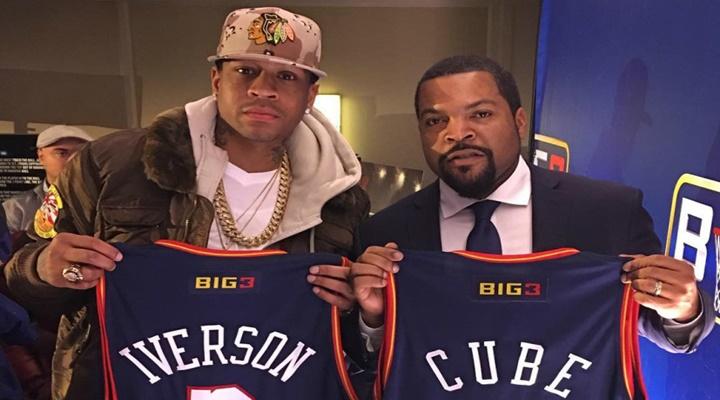 Allen Iverson es el primer fichaje de Ice Cube para su liga de baloncesto