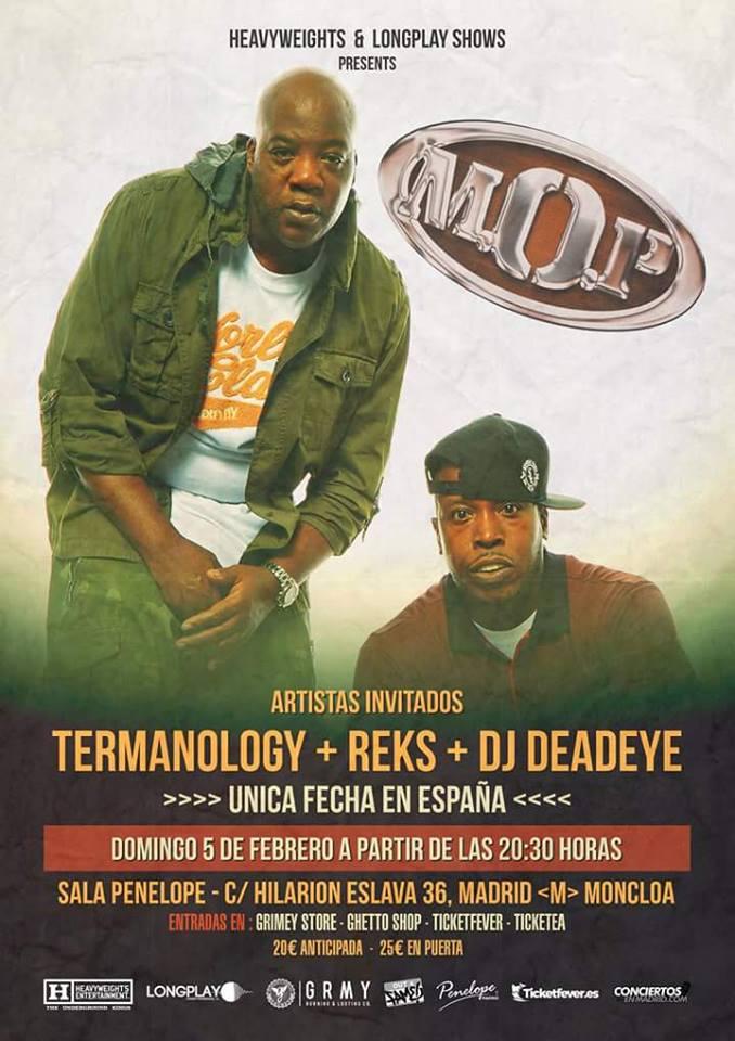M.O.P en Madrid