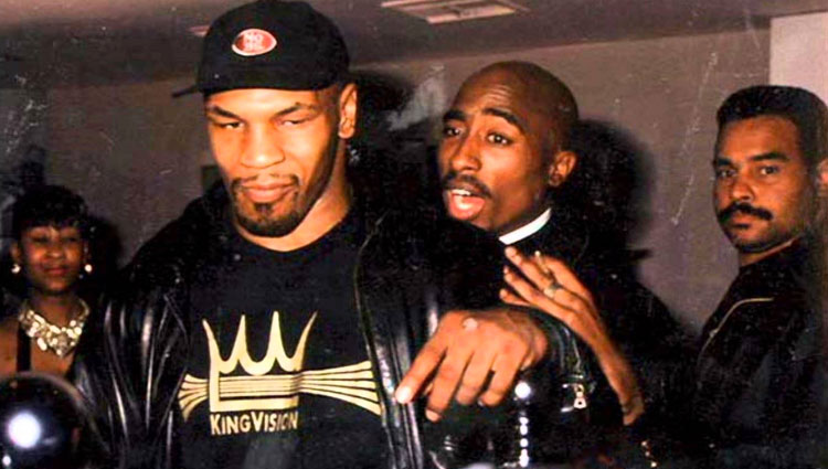 Se vende la entrada del combate de boxeo al que asistió Tupac en 1996