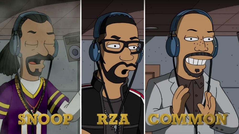 Ya podéis ver el capitulo de Los Simpson dedicado al Hip Hop