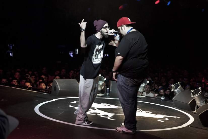 Así es como empezaron las batallas de rap