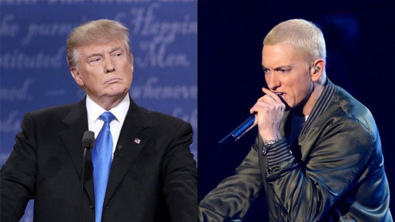 Eminem ataca a Donald trump en su nueva canción junto a Big Sean