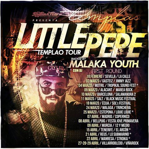 Os traemos las ciudades por donde pasará la gira de Little Pepe