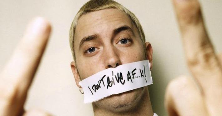 Ponemos «My Name Is» de Eminem al revés y descubrimos un mensaje subliminal