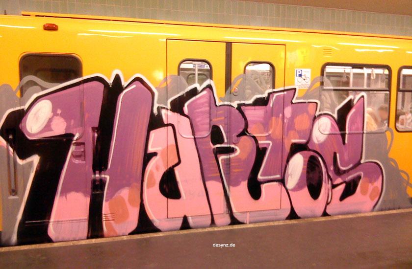 Detienen a 7 grafiteros en Burgos y Bilbao, uno de ellos es el rapero Hurto