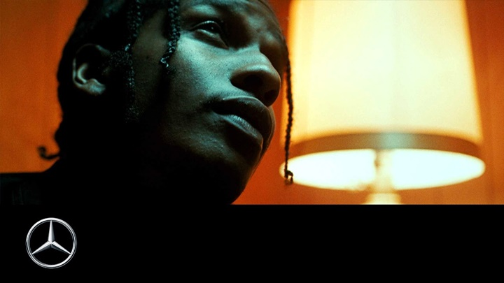 A$AP Rocky es la nueva estrella de Mercedes-Benz