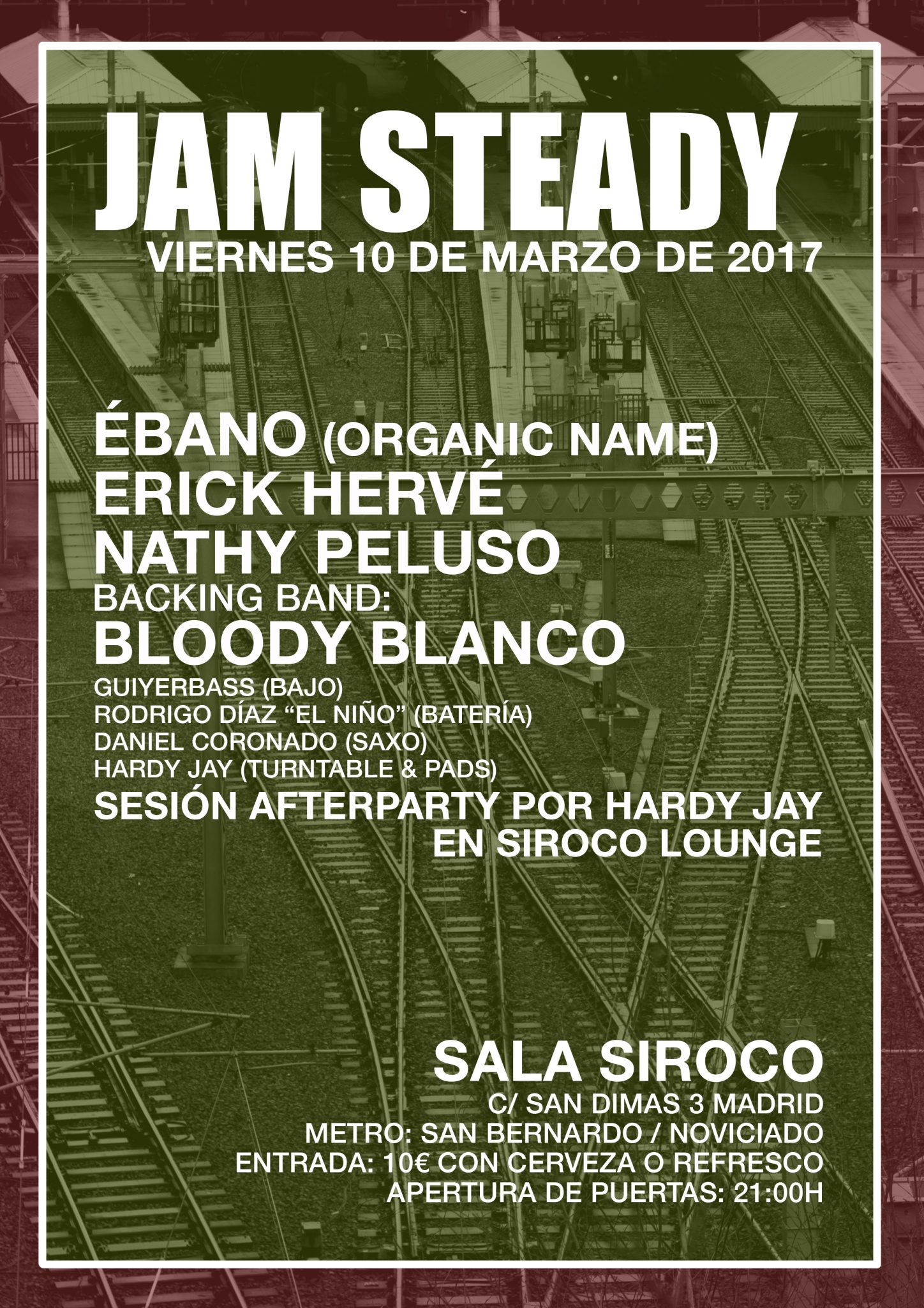 Jam Steady en Madrid