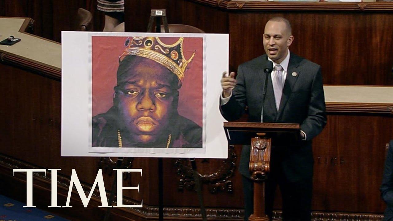 Un congresista de EE.UU homenajea a Notorious B.I.G en la Cámara de Representantes
