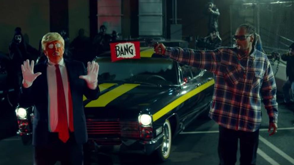 Trump cree que Snoop Dogg tendría que ir a la cárcel por su último videoclip