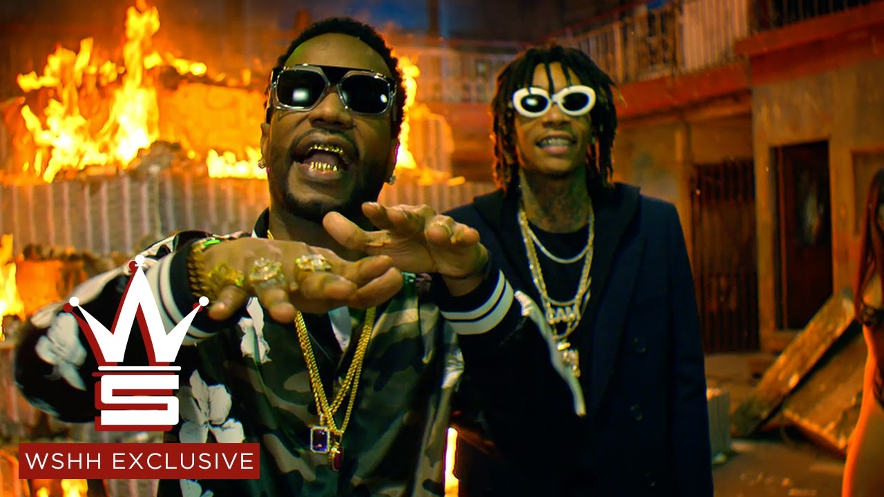 Juicy J & Wiz Khalifa – Cell Ready
