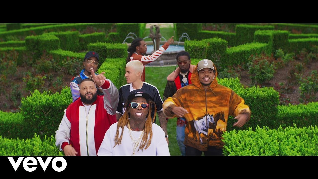 DJ Khaled ft Justin Bieber, Quavo, Chance the Rapper, Lil Wayne – I'm the One