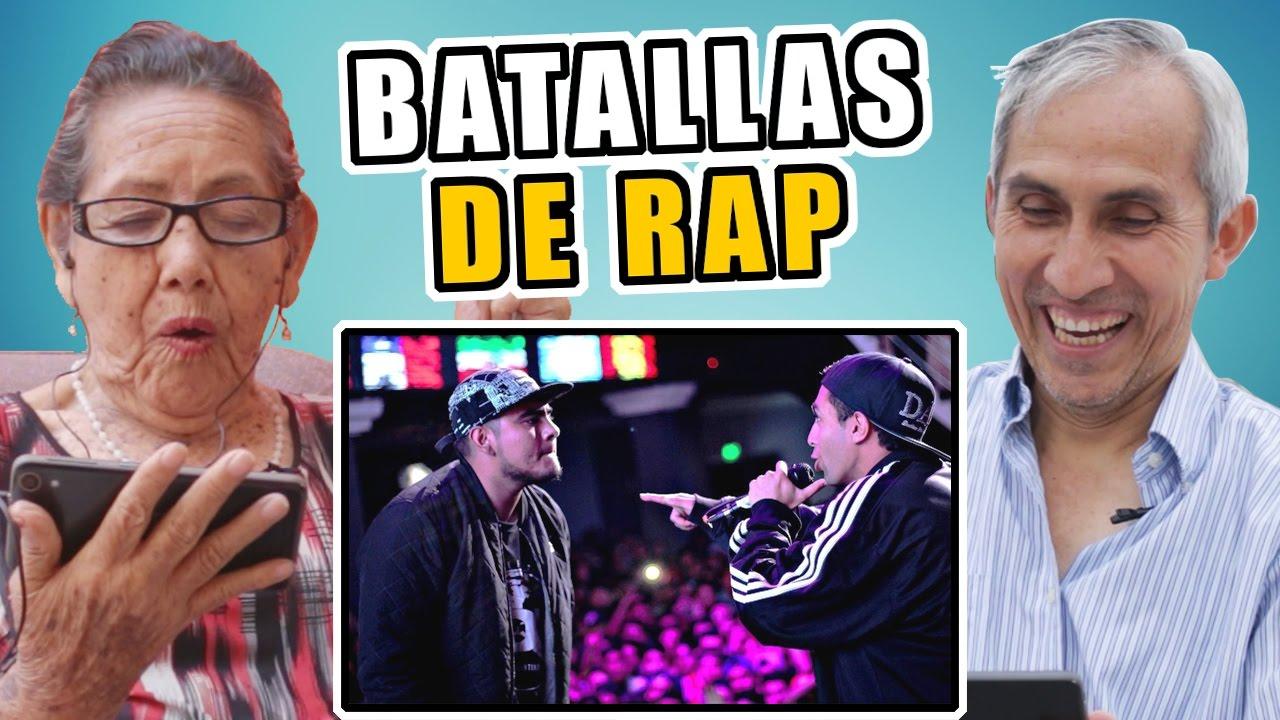 Adultos ven por primera vez una Batalla de Rap y esto es lo que opinan