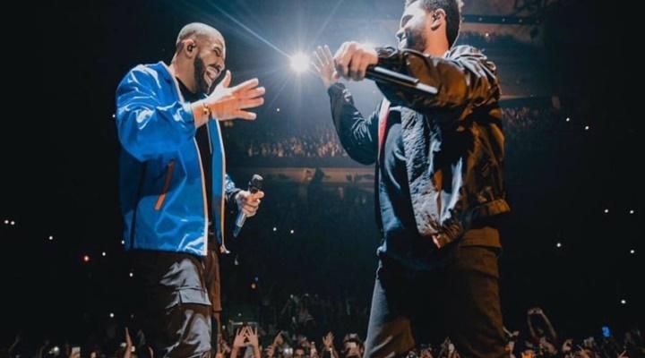 Drake aparece por sorpresa en un concierto de The Weeknd