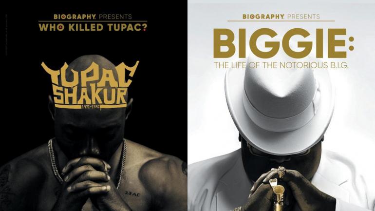Presentan dos nuevos documentales de Notorious B.I.G y Tupac Shakur