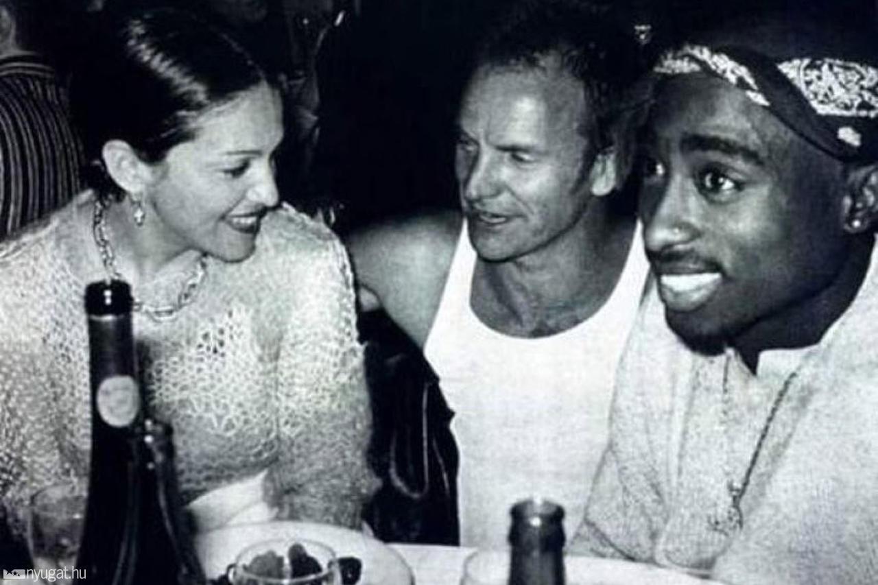 Se descubre que Tupac dejó a Madonna por ser blanca