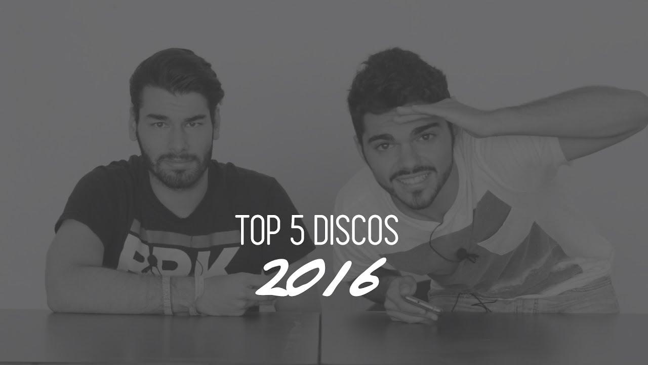 Top 5 discos nacionales 2016