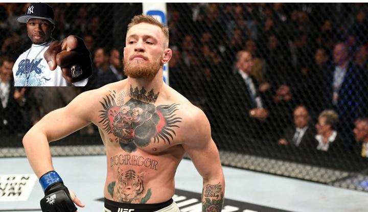 McGregor insulta a 50 Cent y alaba a Jay Z, en un careo con Mayweather