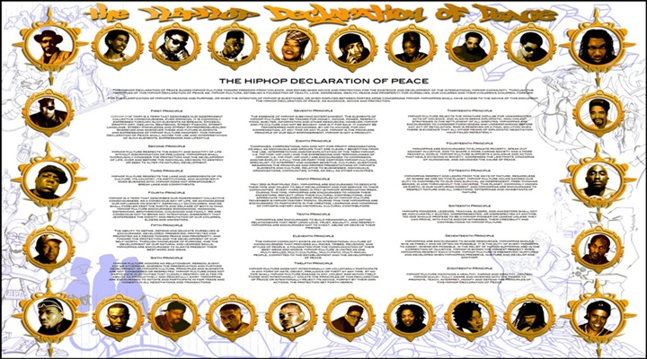 ¿Sabías que hay una Declaración de Paz del Hip Hop?