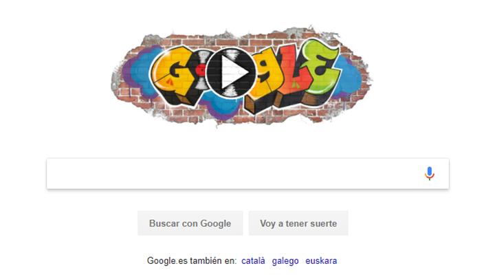 Google homenajea el nacimiento del Hip Hop con este tremendo doodle