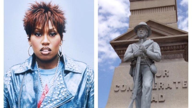 Quieren cambiar una estatua confederada por una de Missy Elliott