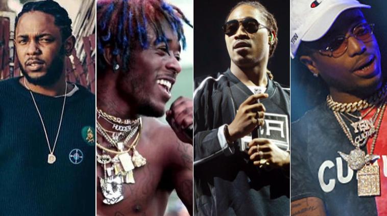 35 de las 50 canciones más escuchadas en EE.UU son de Rap/R&B