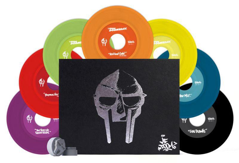¡MF DOOM presenta una edición limitada de 7 vinilos!