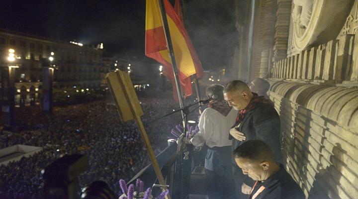 Kase.O emociona con el pregón de las Fiestas del Pilar 2017