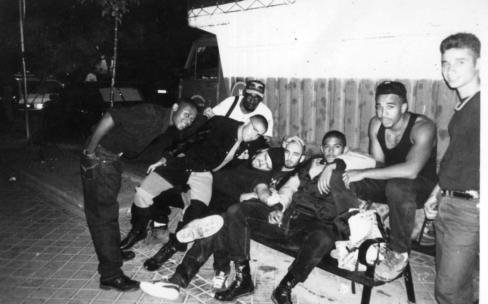 Los primeros rimaderos del Hip Hop en España