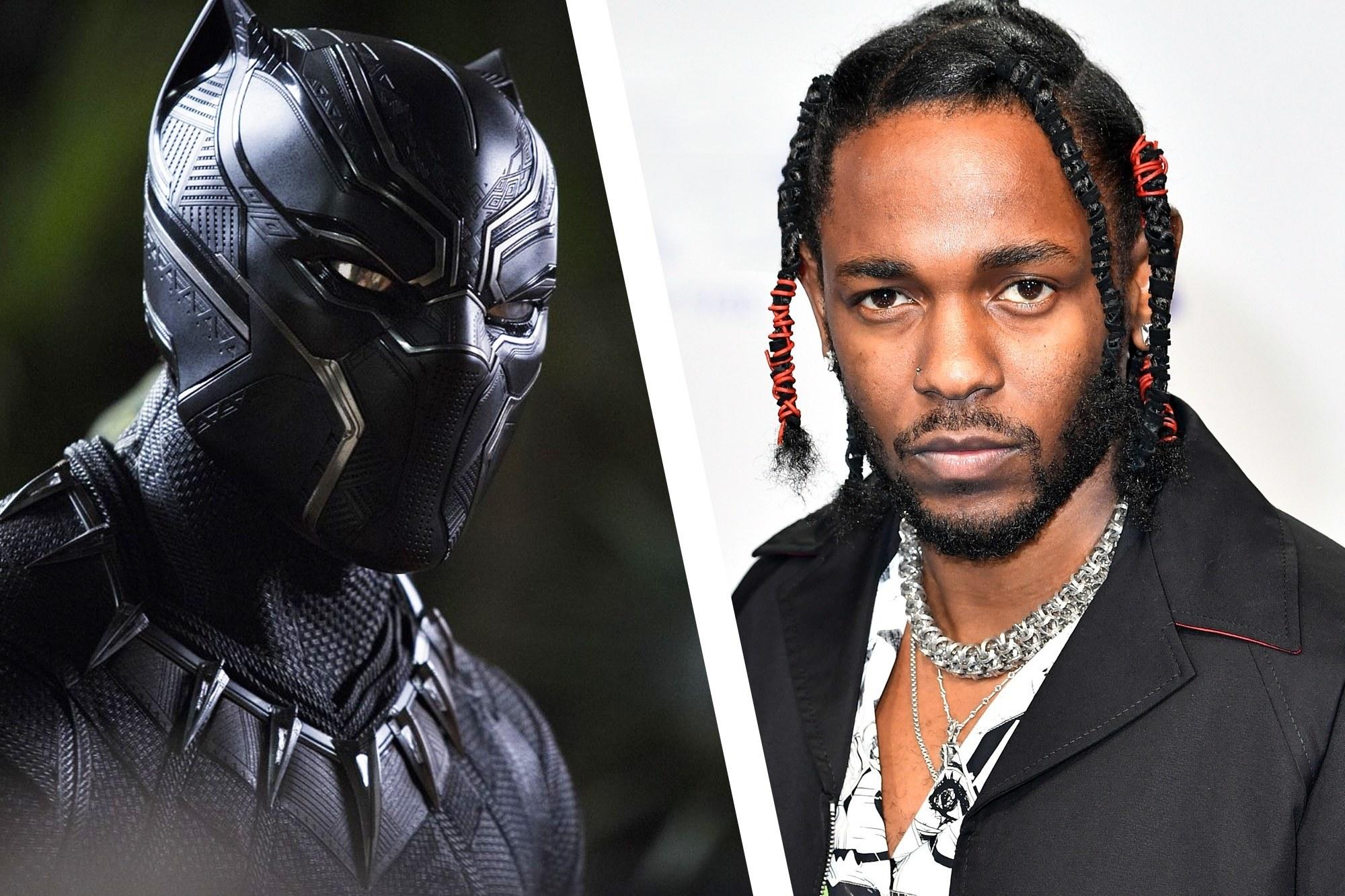 Disponible el nuevo tráiler de Black Panther con música de Kendrick Lamar