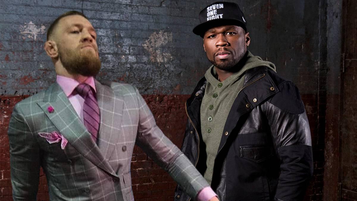 50 Cent dice que acabaría con Mcgregor en una pelea callejera