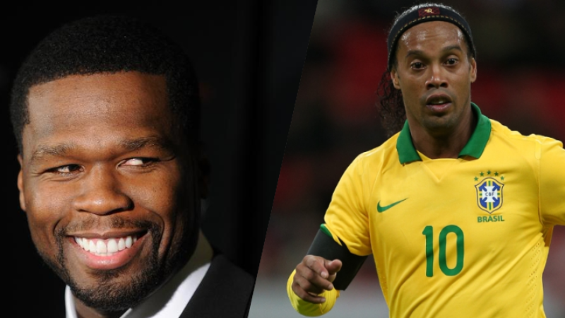 50 Cent homenajea a Ronaldinho tras anunciar su retirada
