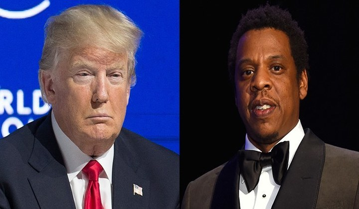 El presidente Donald Trump le tira beef a Jay-Z
