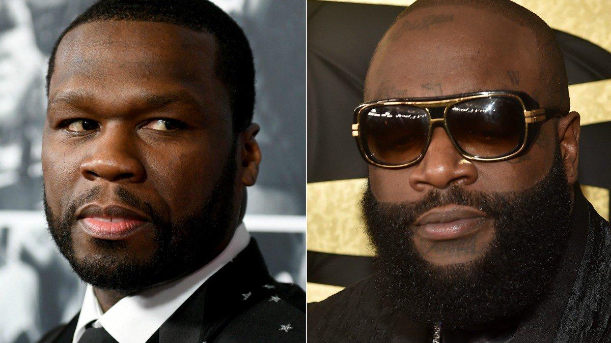 Los fans de Rick Ross muy cabreados con 50 Cent, que ha dicho lo siguiente…