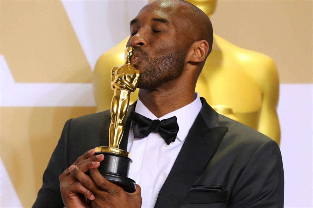 Kobe Bryant gana un Oscar a Mejor Corto de Animación