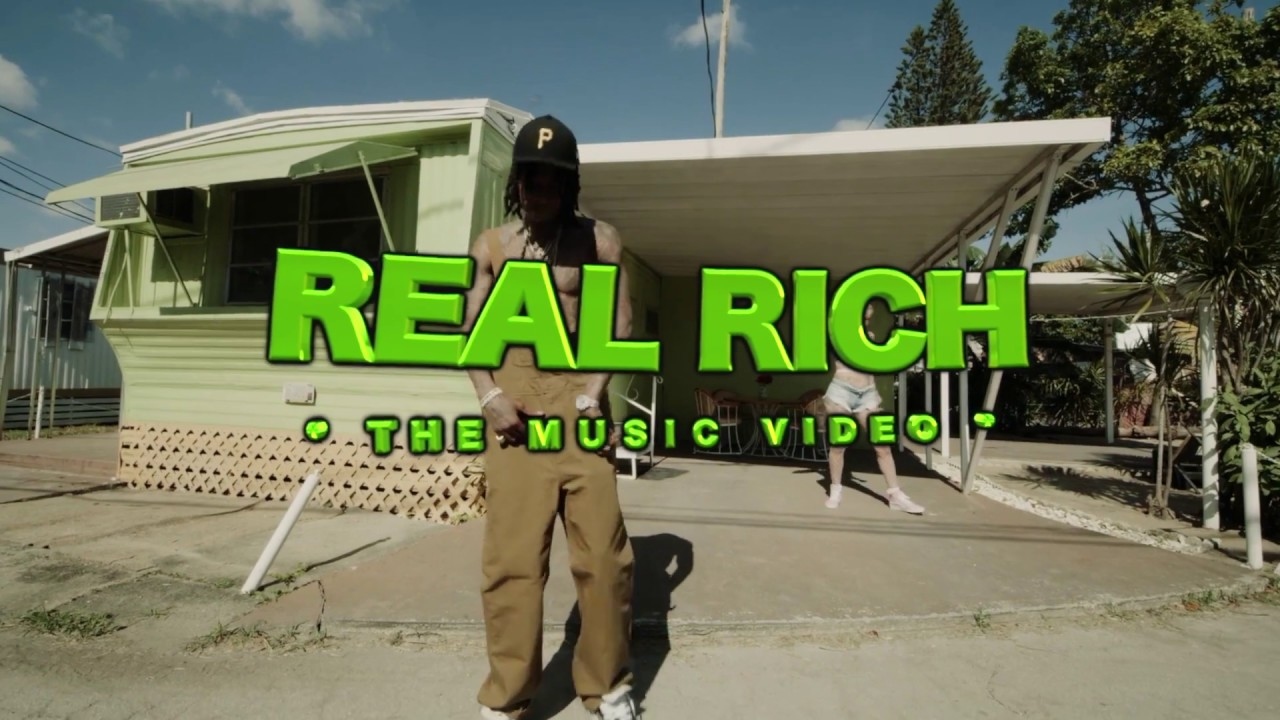 Wiz Khalifa Ft Gucci Mane – Real Rich