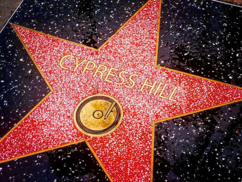"Cypress Hill recibe una estrella en el ""Walk of Fame"" de Hollywood"