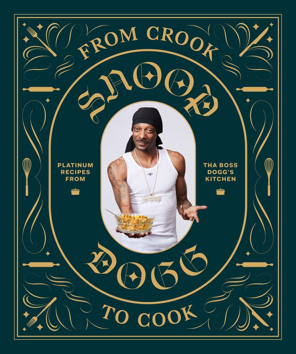 Snoop Dogg sacará su propio libro de cocina «From crook to cook»