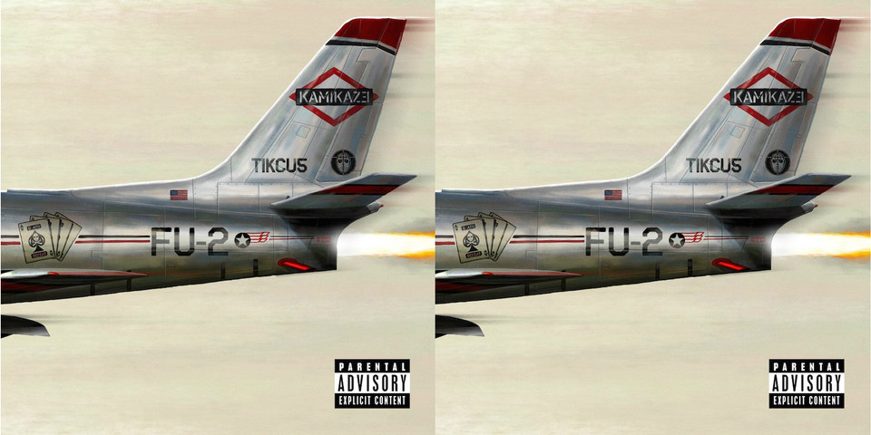 "Ya podéis escuchar ""Kamikaze"", el nuevo disco de Eminem"
