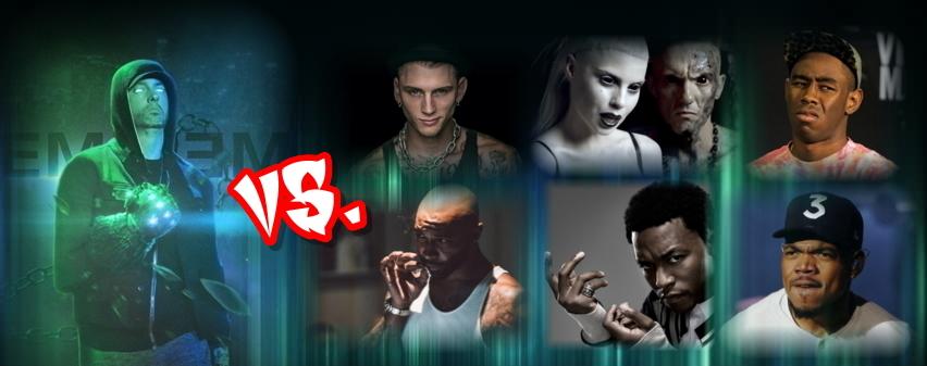 La Guerra Civil del Rap: Todos contra Eminem (Lupe Fiasco, Joe Budden, MGK…)