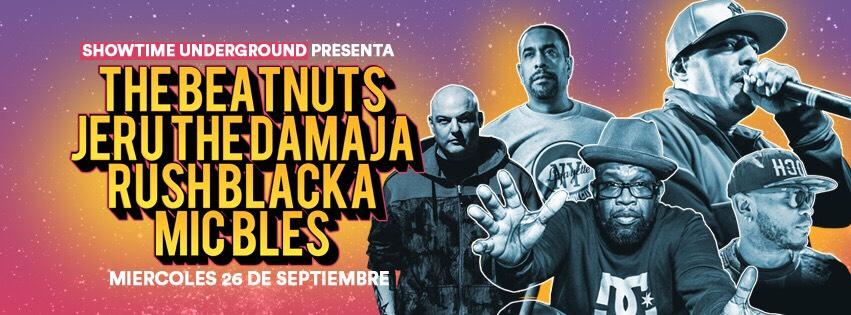 The Beatnuts y Jeru The Damaja en Madrid