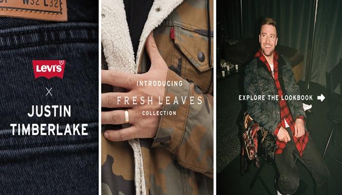 Atentos a la nueva colección de Levi´s junto a Justin Timberlake