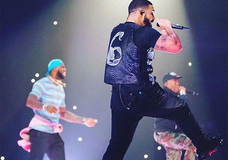 LeBron James sube al escenario en pleno concierto de Drake y Travis Scott