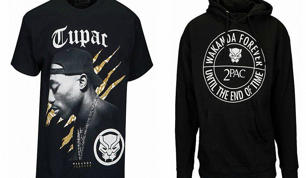 2Pac y Black Panther colaboran en una nueva línea de ropa
