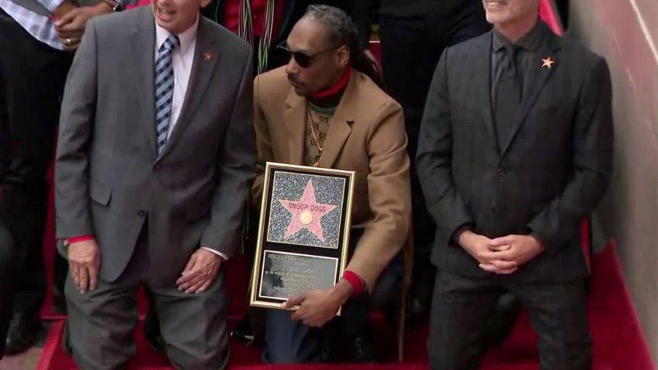 Snoop Dogg ya dispone de su estrella en el Paseo de la Fama