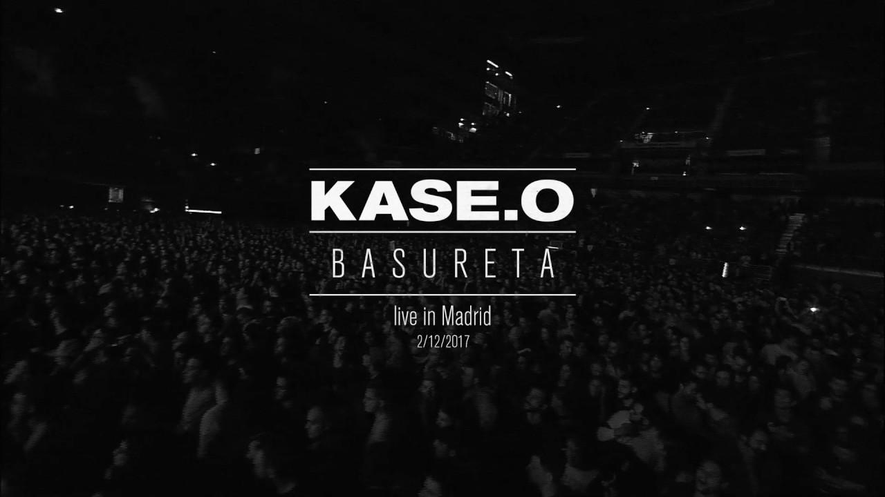 """El directo de """"Basureta"""" de Kase.O te dejará los pelos de punta"""